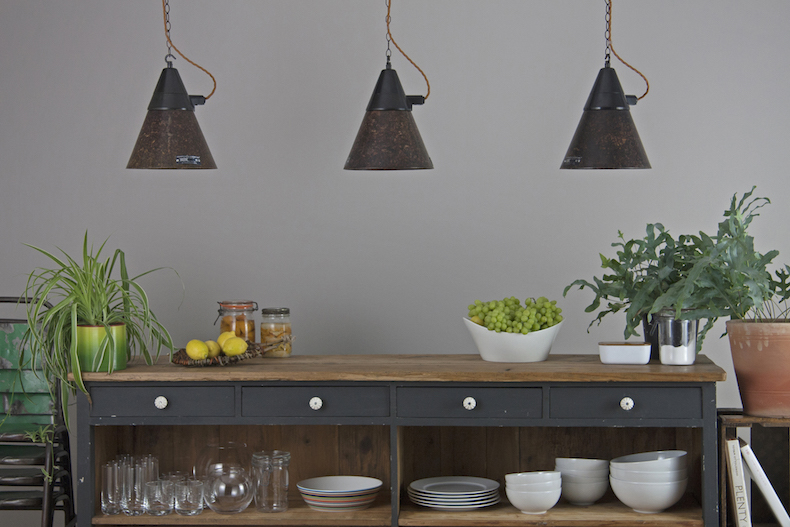 Eastern Bloc conical pendant lights