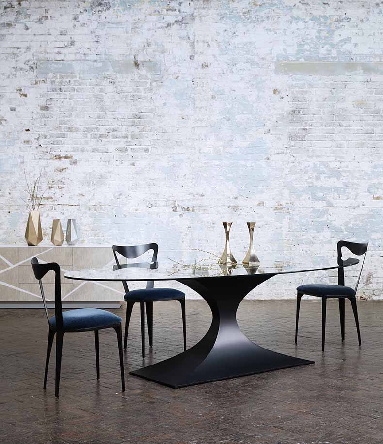 Tom Faulkner dining table