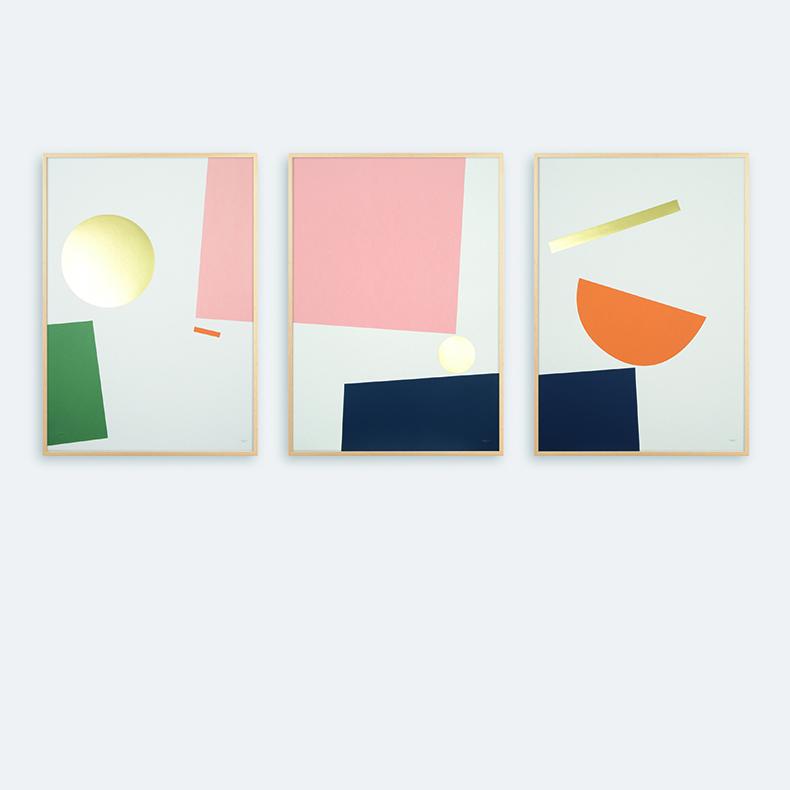 Tom Pigeon Triptych