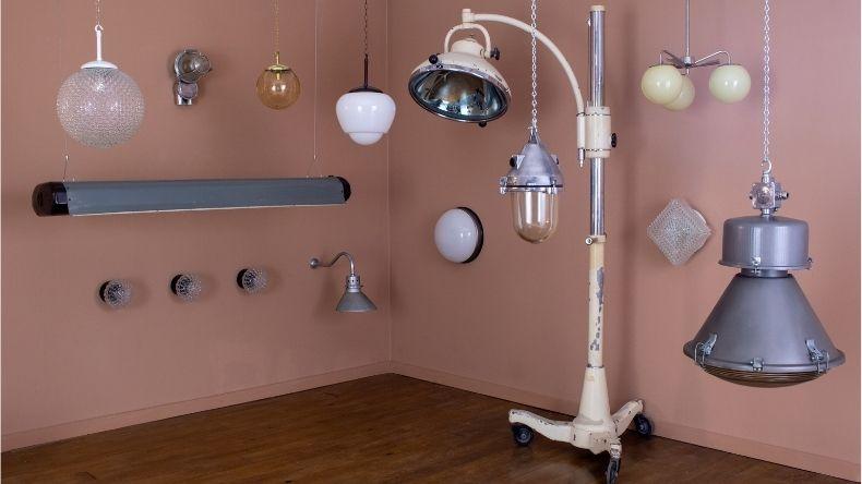 skinflint vintage lighting for prop hire