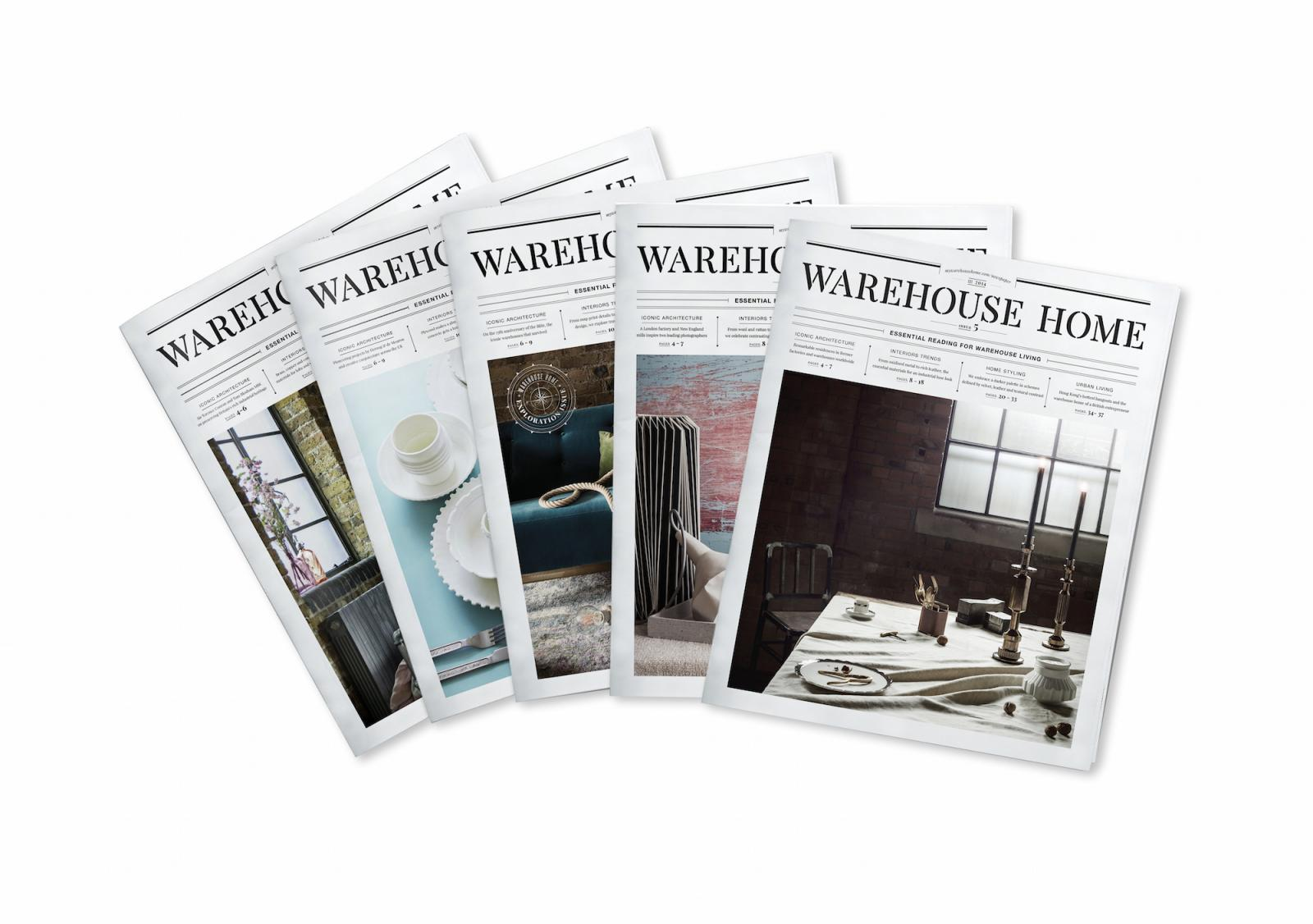 issues of My Warehouse Home Magazine
