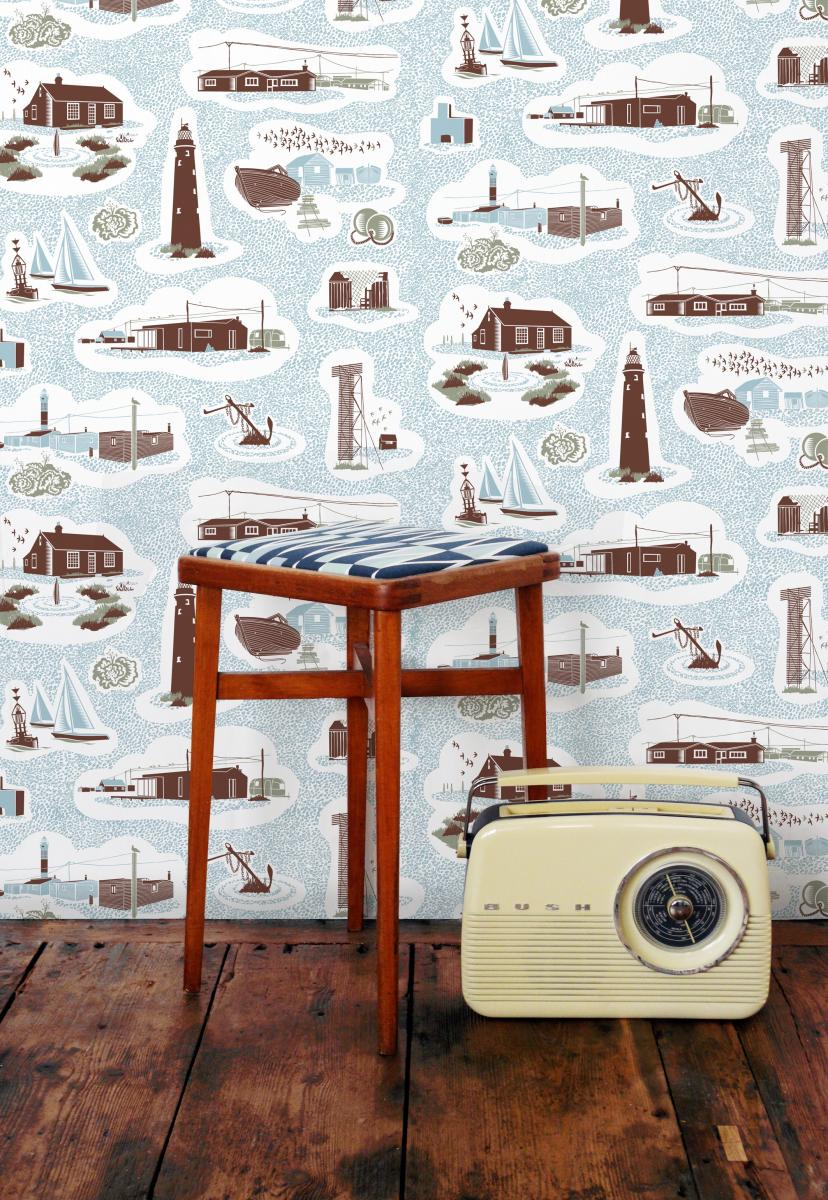 Dungeness wall paper