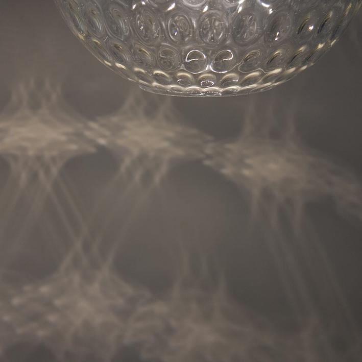 dappled glass lighting effect