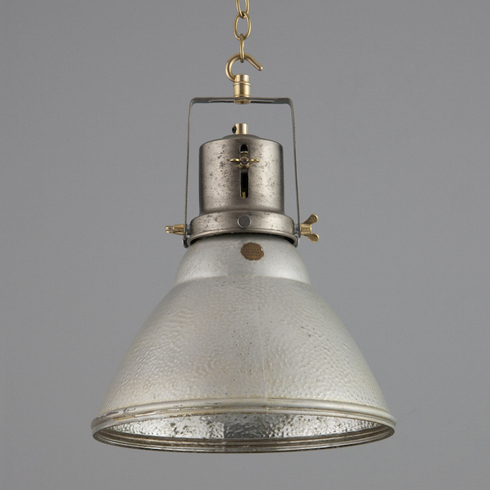 Mercury Glass Silver ceiling light