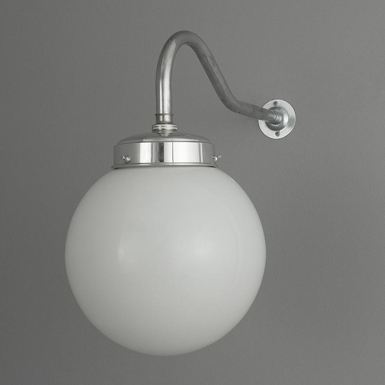 skinflint Vintage Czech opaline wall lights