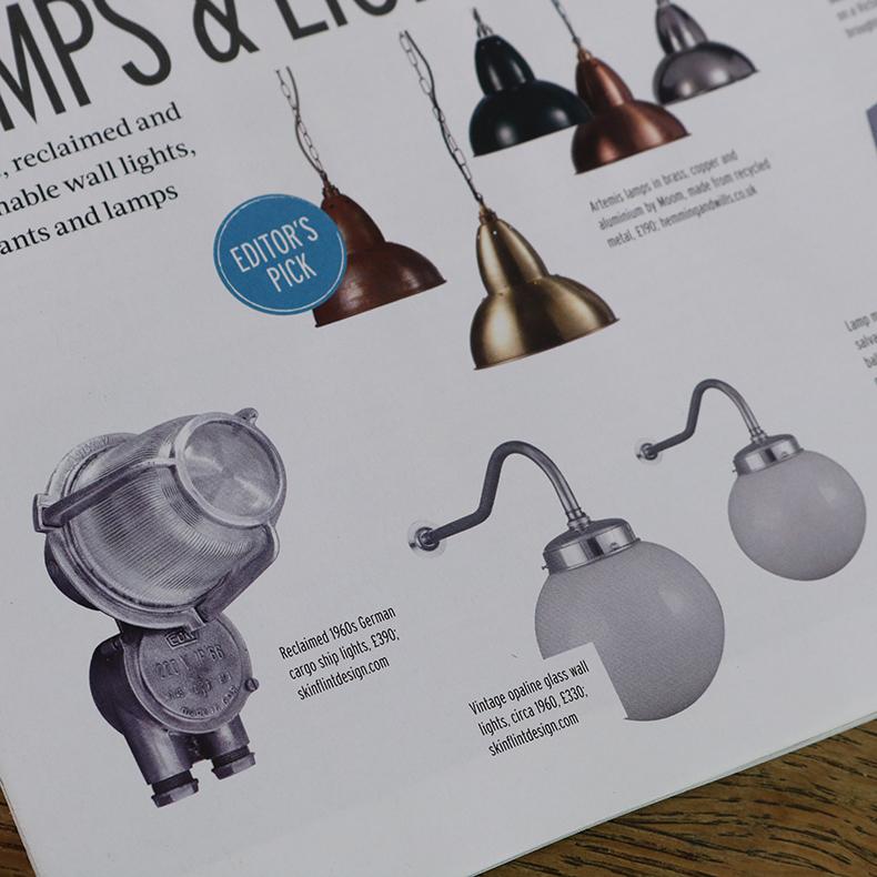 skinflint reclaim magazine lamps and lighting