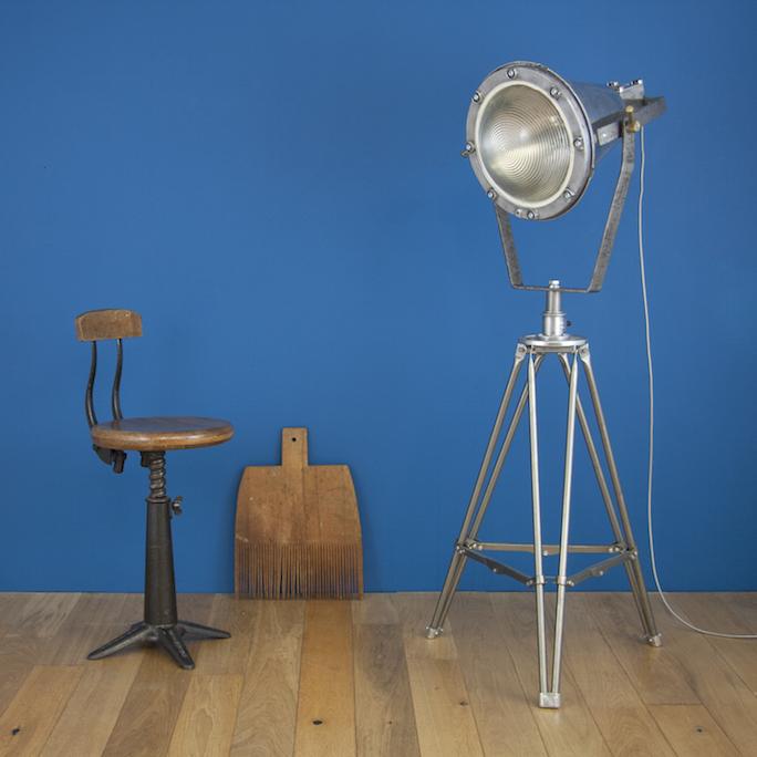 Vintage Holophane Floorstanding lamp