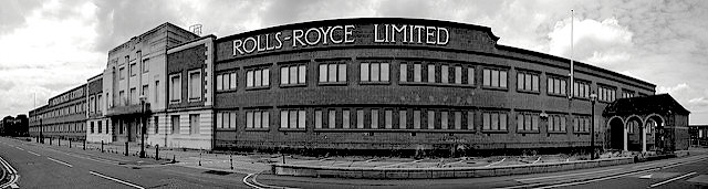 Rolls Royce factory Derby