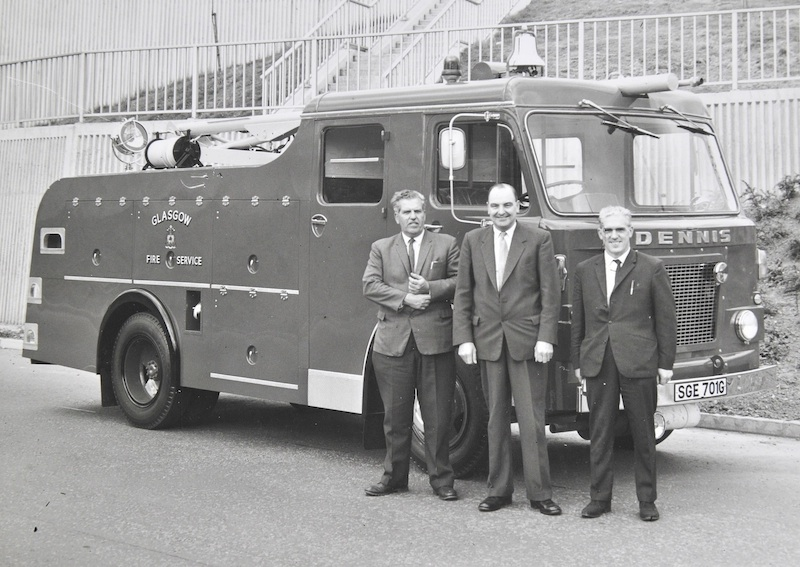 1970's fire engine